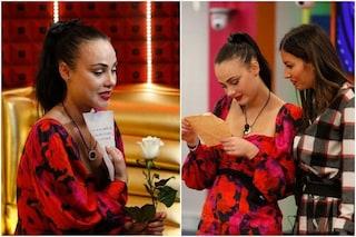 GFVip, Rosalinda per il suo compleanno riceve una lettera dal fidanzato Giuliano