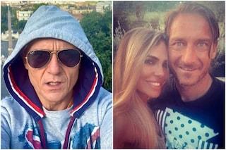 """Signorini: """"Totti e Ilary entrambi ammalati di Covid, a Francesco è andata peggio"""""""
