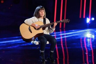 A Tu si que vales la chitarrista bambina incanta tutti, Ludovica Leonardi ha solo 10 anni