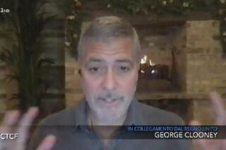 """George Clooney: """"Donald Trump? Un tipaccio che cercava ragazze"""", poi l'appello agli italiani"""