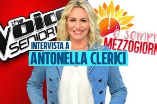 """Antonella Clerici dopo The Voice Senior: """"Nella vita voglio continuare a essere una scommessa"""""""