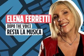 """Elena Ferretti dopo The Voice Senior: """"Spero che ora non finisca tutto"""""""