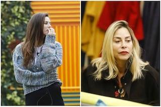 """GF Vip, Dayane Mello su Stefania Orlando: """"Mi vuole fuori da qui, non mi sopporta e neanche io a lei"""""""