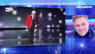 """La rivelazione di Gabriele Cirilli: """"Quello che Gigi Proietti disse a mio padre..."""""""