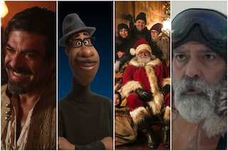 George Clooney, Soul, Pierfrancesco Favino e Fabio De Luigi: il cinema è davvero a casa nostra
