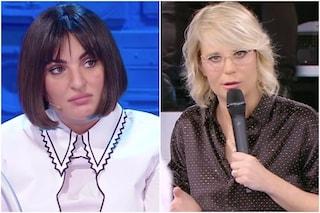 """Imbecille"": Maria De Filippi svela l'assurdo motivo per cui Arisa fu scartata ad Amici"