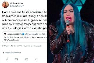 Scontro social tra Loredana Berte e Giulio Todrani, escluso da The Voice Senior