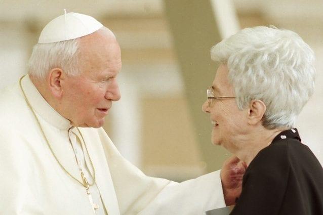 Papa Giovanni Paolo II e Chiara Lubich