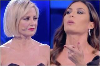 """Il video della lite tra Antonella Elia ed Elisabetta Gregoraci: """"Gatta in calore, dici stupidaggini"""""""