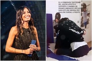 GFVip, Elisabetta Gregoraci torna a casa e riabbraccia Nathan Falco