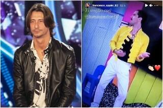 """""""Ti voglio così"""", Francesco Oppini fuori dal GF Vip e la story instagram per Tommaso Zorzi"""