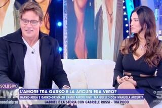 """Manuela Arcuri: """"Gabriel Garko gay? Non lo sapevo, mi sono sentita usata"""" e l'attore fa chiarezza"""