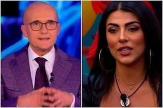 """Giulia Salemi si scontra con Alfonso Signorini: """"Non scrivevo a Flavio Briatore quando era sposato"""""""
