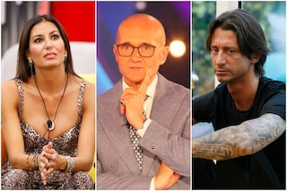 Elisabetta Gregoraci e Francesco Oppini vogliono lasciare il GF Vip: la reazione di Signorini