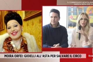 """Brigitta Boccoli e Stefano vendono i gioielli di Moira Orfei: """"La situazione è molto dura"""""""