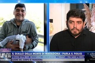 "Diego Maradona jr: ""Ingiusta la morte di mio padre, l'ho vissuto per poco ma ne è valsa la pena"""