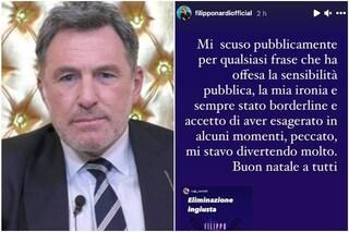 La reazione a caldo di Filippo Nardi dopo la squalifica dal GFVip