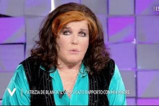 """Patrizia De Blanck in lacrime: """"Mia madre mi chiese di ucciderla, non voleva più vivere"""""""