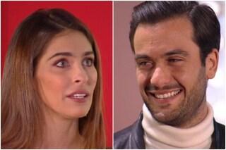"""Pierpaolo Pretelli commosso di fronte alla ex Ariadna Romero, lei: """"Sei l'eroe di nostro figlio"""""""