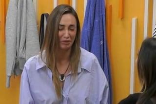 """Sonia Lorenzini scoppia a piangere: """"Mi sono spaventata, mi è venuto il panico"""""""