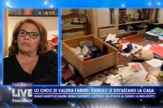 """Valeria Fabrizi dopo il furto devastante: """"Non perdono i ladri, penso il male per loro"""""""