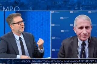 """Anthony Fauci da Fabio Fazio, stoccata a Donald Trump: """"Alla fine non è lei quello licenziato"""""""