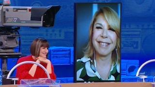 Anna Pettinelli positiva al Covid, collegamento da casa per Amici pomeridiano