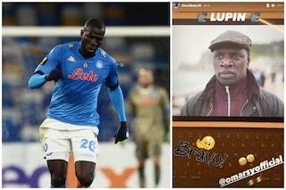 """Lupin su Netflix, anche Kalidou Koulibaly stregato dalla serie tv: """"Bravo Omar Sy"""""""