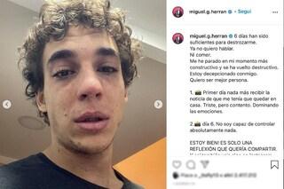 """Rio de La Casa di Carta positivo al Covid: """"Non voglio parlare né mangiare"""""""