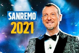 """Sanremo 2021, la conferenza stampa in diretta, Elodie: """"più solidarietà tra donne"""". Amadeus: """"Appello per Zaki doveroso"""""""