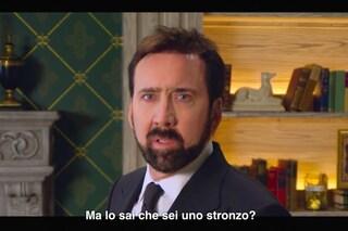 Nicolas Cage geniale in Storia della parolacce: ora vogliamo la versione italiana del format
