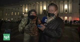 """Antonio Di Bella dopo l'assalto a Capitol Hill: """"Hanno aggredito i giornalisti, come voleva Trump"""""""