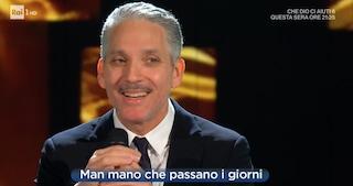 Stranizza d'amuri, Beppe Fiorello omaggia Franco Battiato a Domenica In