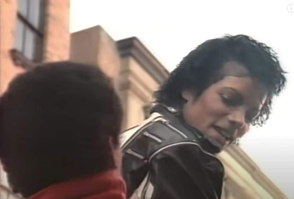 Michael Jackson in uno spot Pepsi degli anni '80
