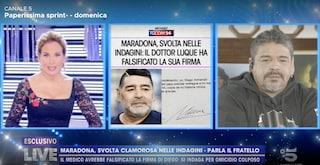 """Il fratello di Maradona: """"Mi fa male sentire queste cose, voglio solo verità e giustizia per Diego"""""""