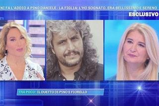 """Pino Daniele ricordato dalla figlia Cristina: """"L'ho sognato, poco dopo mi è arrivato un segnale"""""""