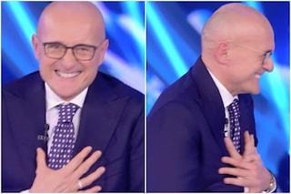 """Scoppio in diretta al GF Vip, Alfonso Signorini si spaventa: """"È un attentato? Sono terrorizzato"""""""