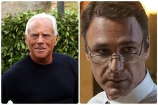 """Giorgio Armani sulla fiction Made in Italy: """"Raoul Bova è bravo, più telegenico di me"""""""