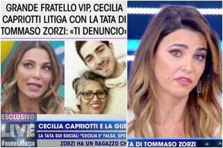 """Cecilia Capriotti contro la tata di Tommaso Zorzi: """"Sto pensando alla diffida"""""""