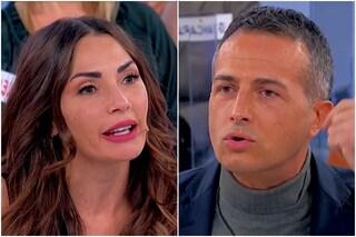 Uomini e Donne, il duro scontro tra Ida Platano e Riccardo Guarnieri
