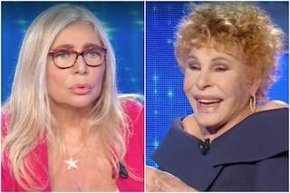 """Ornella Vanoni spaventa Mara Venier: """"Sei malata"""", la conduttrice terrorizzata: """"Mi fai stare male"""""""