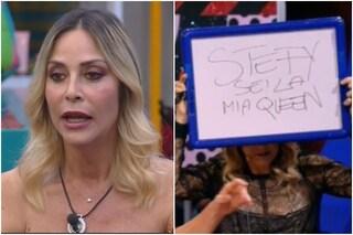 """Signorini a Dayane Mello: """"Spiattelli confidenze"""" e lo studio appoggia Stefania Orlando: """"Queen"""""""