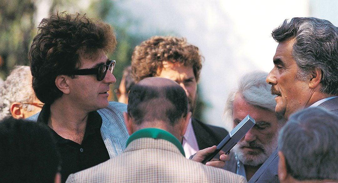 Red Ronnie con Vincenzo Muccioli