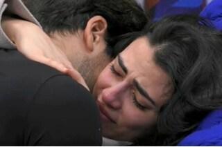 """Giulia Salemi piange, ferita dalla famiglia di Pierpaolo: """"Faccio finta che non mi tocchi"""""""