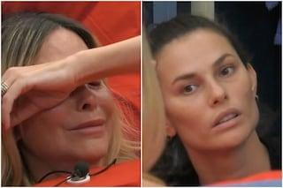 """Stefania Orlando e Dayane Mello, dalla lite alle lacrime: """"Sei un virus che entra nel cervello"""""""