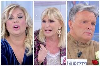 """Uomini e Donne, Maurizio lascia Gemma. Tina: """"Chiedi scusa, hai imbrogliato una donna di 72 anni"""""""