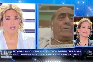 Morto Mario Bellugi, Barbara D'Urso lo ricorda commossa: lo aveva intervistato un mese fa