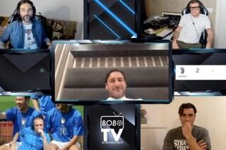 """Francesco Totti a Bobo Tv: """"La serie sulla mia vita? Anche Antonio Cassano l'hanno fatto uguale"""""""