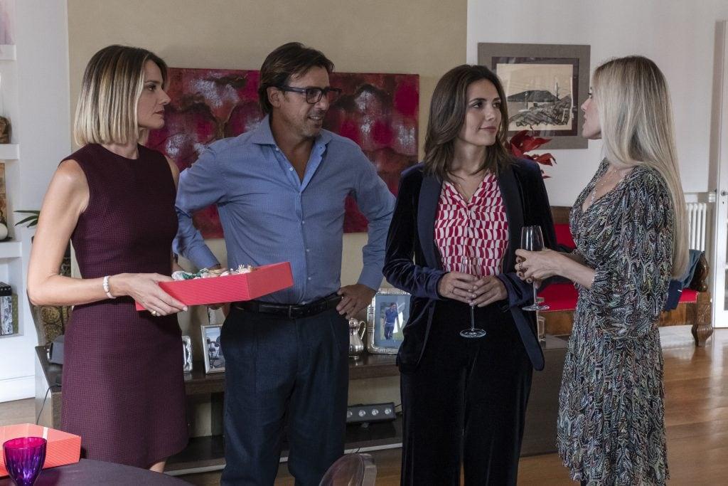 Una scena della serie tv Mina Settembre