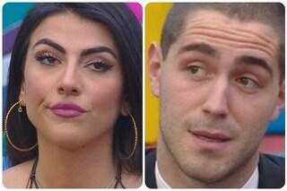 """GF Vip, Giulia Salemi contro Zorzi: """"Ho l'ansia di parlare e dire qualsiasi cosa"""""""